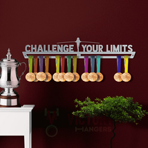 Challenge Your Limits Medal Hanger Display - $45.69