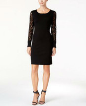 Calvin Klein Petite Lace-Sleeve Sweater Dress - $32.99