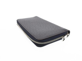 LOUIS VUITTON Zippy Organizer Taiga Leather Navy M30169 Wallet Authentic... - $1,096.56