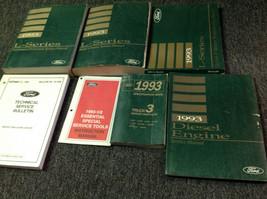 1993 Ford L SERIES L-SERIES TRUCK Service Shop Workshop Repair Manual Se... - $128.65