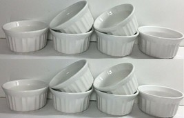 Corelle Corningware French White Set of 12 Ramekins 4-OZ Stonesware NEW - $29.95