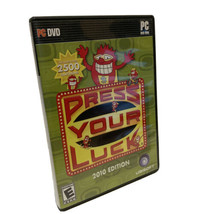 Press Your Luck: 2010 Edition PC DVD ROM Game Rated E Ubisoft - $49.17