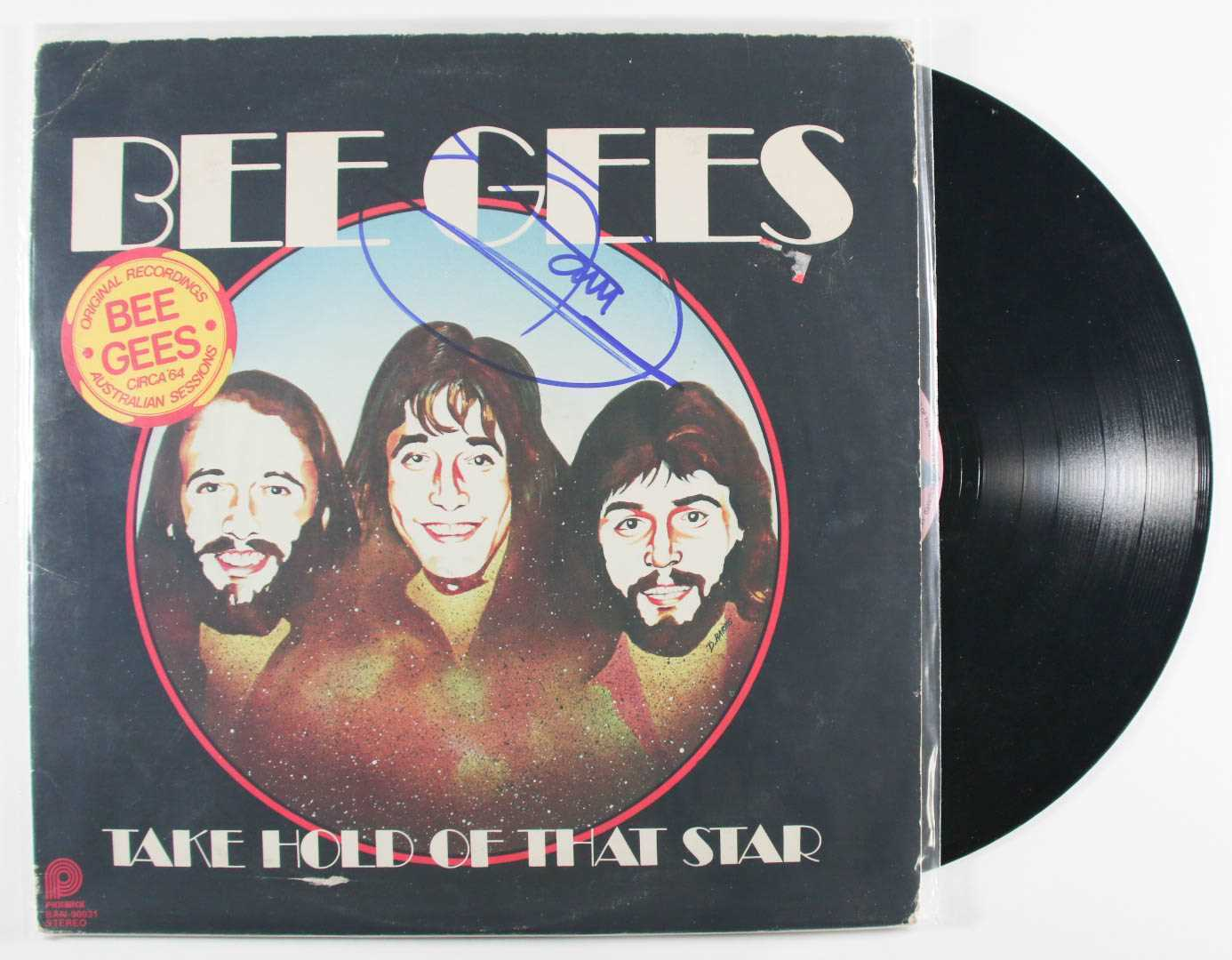 "Primary image for Barry Gibb Signed Autographed ""Bee Gees"" Record Album"