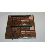 2x NUDE Eyeshadow L.A Colors 12 Palette Shade & Highlight Eye Shadow BRA... - $10.44