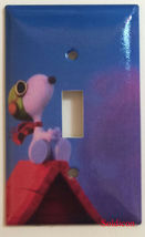 Peanuts Flying Snoopy Toggle Light Switch Outlet Wall Cover Plate Home Decor