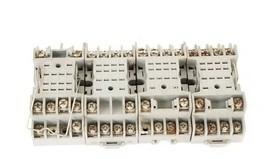 LOT OF 4 IDEC SY4S-05 RELAY SOCKET BASES 7A 300V 35144 84913 SY4S05