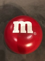 M&M Big Red Ceramic Candy Dish/ Trinket Box! Collectible! Vintage - $11.00