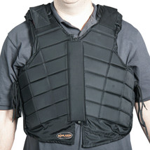 Y158- Hilason Adult Safety Equestrian Eventing Protective Protection Vest Horse - $59.95
