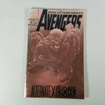 AVENGERS #360 March 1993 Marvel Bronze Foil embossed Alternate Vision Co... - $8.99
