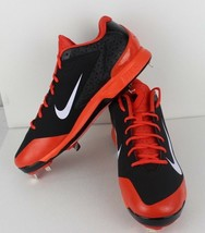 cdcffe0543e67 Nike Hombre Huarache pro bajo Beisbol Tacos Naranja Negro Metal Talla 13.5  -  31.03