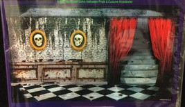Scary Gothic Mansion ABANDONED HAUNTED HOUSE MURAL Garage Door Poster De... - $3.93