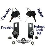 Can-Am Ryker Double Helmet Lock Kit - $43.00