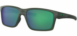 Oakley Mainlink Sunglasses Grey Smoke W/ Jade Iridium OO9264 0457 - $167.31