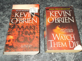 Kevin O'Brien lot of 2 suspense paperbacks - $2.99