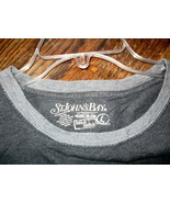 MEN'S 100% T-SHIRT BY ST. JOHN'S BAY, SIZE LARGE, GREY, NEW WITH TAG - $7.53