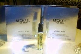 MICHAEL KORS for MEN, FIVE SPRAY VIALS FOR TRAVEL, NEW - $13.71