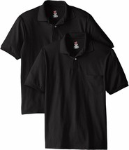 Hanes Men's Short-Sleeve Jersey Pocket Polo (Pack of 2) - $33.68+