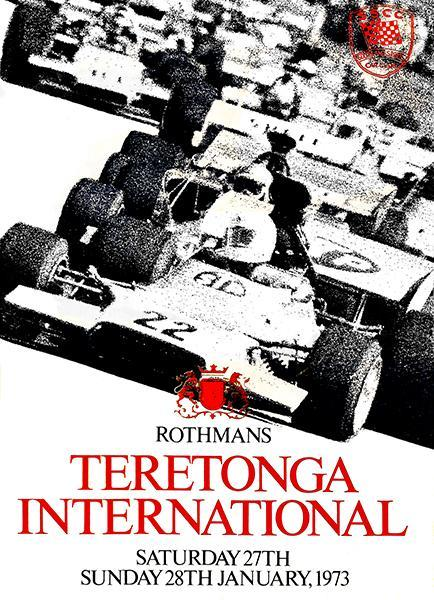 Primary image for 1973 Teretonga International Race - Teretonga Park - Program Cover Poster