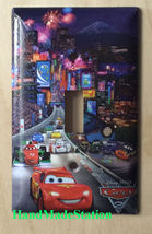 Cars Lightning McQueen Japan Light Switch Power outlet cover plate home decor