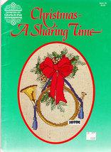 Cross Stitch Christmas - A Sharing Time Gloria & Pat - $3.50