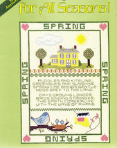 CROSS STITCH SAMPLERS FOR ALL SEASONS! GLORIA & PAT - $3.50