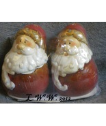 Santa Claus St. Nick Christmas Salt and Pepper Shaker Set in Package - $3.99
