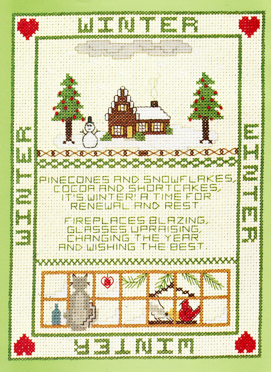CROSS STITCH SAMPLERS FOR ALL SEASONS! GLORIA & PAT