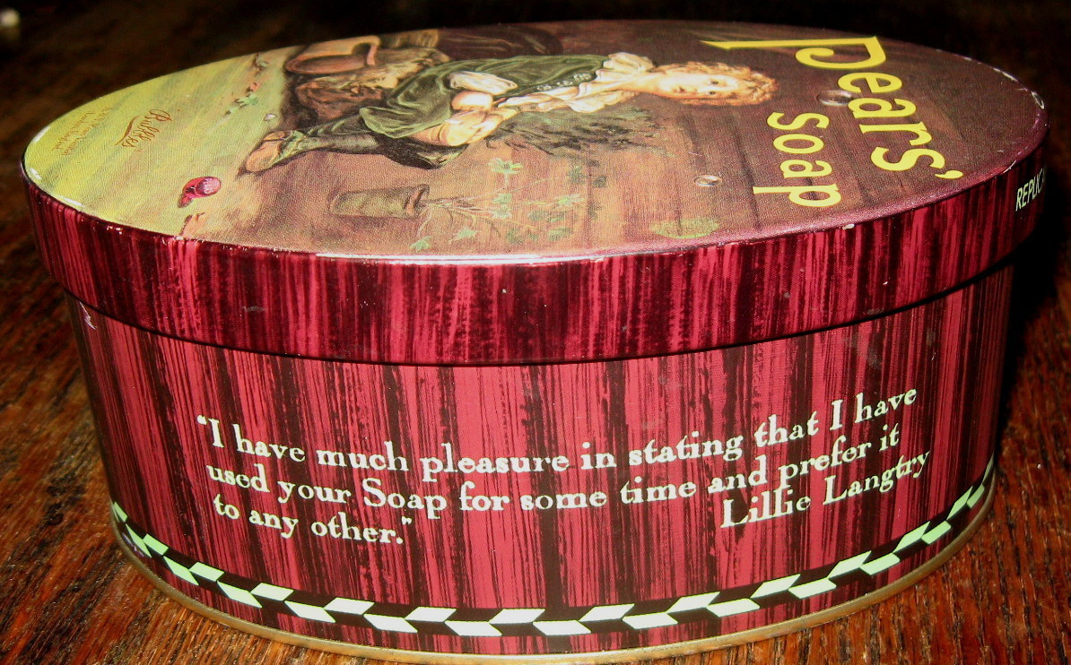 Vintage TIN CAN  Bubbes A & F. PEAR'S SOAP, London, England/ Limited Edition