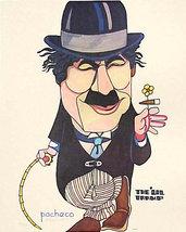 """Ferdie Pacheco """"The 'Lil Tramp"""" Chaplin - S/N L... - $40.00"""