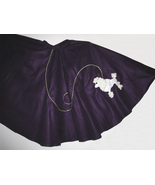 Purple Poodle Skirt - $24.00