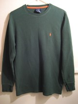 POLO RALPH LAUREN sleepwear, longsleeve shirt 100% cotton size medium - $15.49