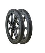 Marathon 92001-2pk 20x2.0 Rim Flat Free Cart Tire Assembly, 2 Pack - $84.50