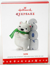 Hallmark: Son - Polar Bear - 2016 Keepsake Ornament - $9.20