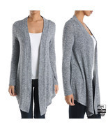 Women's Casual Long Sleeve Cardigan Knitted Jacket Sweater Coat Outwear ... - £9.57 GBP