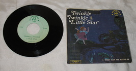 Twinkle Twinkle Little Star/What Can the Matter Be 45 LP Robin Hood Records - $8.99