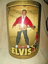 1993 Hasbro Elvis Presley Jailhouse Rock Doll In Original Box Excellent - $39.99