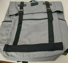 Portage Travel Gear, Canvas Backpack Travel Pack/Double Buckle Closing. ... - $24.74