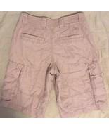 GAP Khakis Beige Tan Wheat Light Brown Casual Loose Fit Cargo Shorts 30 - $19.99