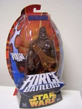 Chewbacca Water Firing Blaster Force Battlers Action figure ROTS  - $14.99