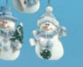 Blue snowman ornaments thumb200