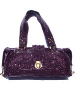 LESA WALLACE Eggplant Purple Patent Leather Fra... - $146.62