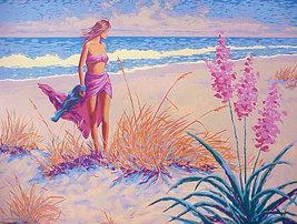 "Gary George ""Ocean Breeze"" - S/N Serigraph - Retail $550.00 - COA - See ... - $200.00"