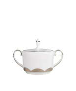 VERA WANG Wedgwood Lotus Covered Sugar Bowl Bon... - $29.99