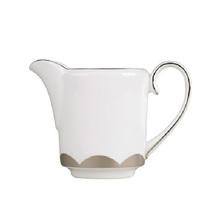 VERA WANG Wedgwood Lotus Creamer Bone China White Platinum NEW $110 - $29.99