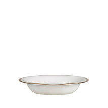 VERA WANG Wedgwood Lotus Open Vegetable Bowl Bone China White Platinum N... - $39.99