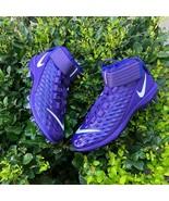 BRAND NEW NIKE Force Savage Pro 2 'Hyper Grape' MEN'S FOOTBALL CLEATS AH... - $59.99