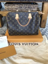 Authentic Louis Vuitton Speedy 30 Monogram EUC tPF  - $850.00