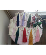 Macrame Angel | Angel Ornament | Christmas Ornament | Handcrafted Macrame  - $14.00