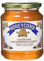 Honeycomb Tasmanian Leatherwood Clear Honey #ihc - $21.29