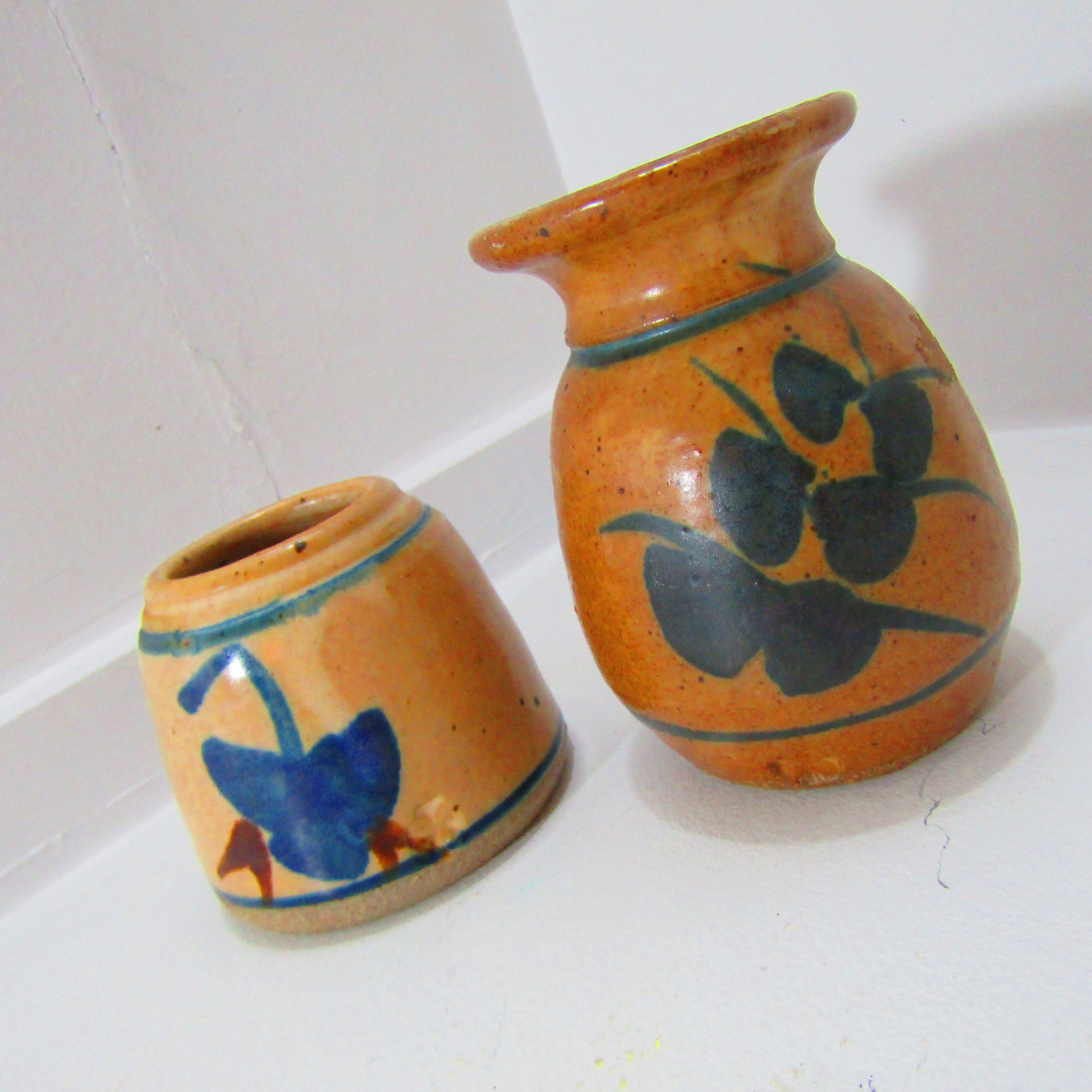 Primary image for Shamrock Imprinted Vase and Apothecary Stoneware